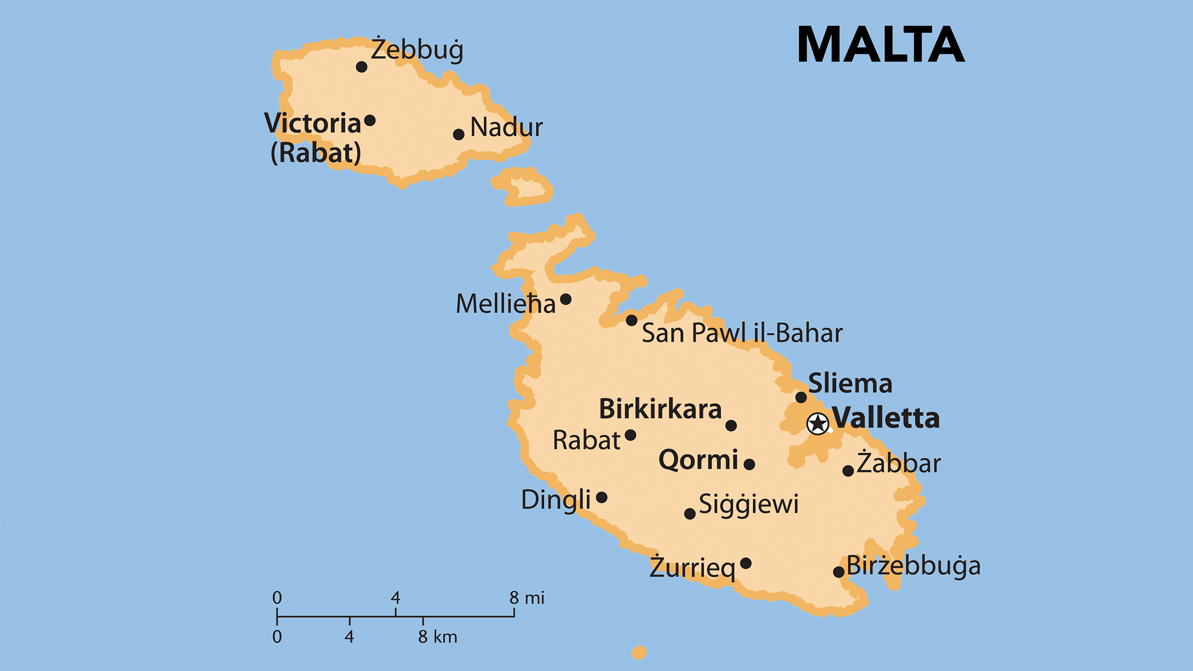 malta mapa Mapa turístico de Malta | Mapas del mundo | Pinterest malta mapa