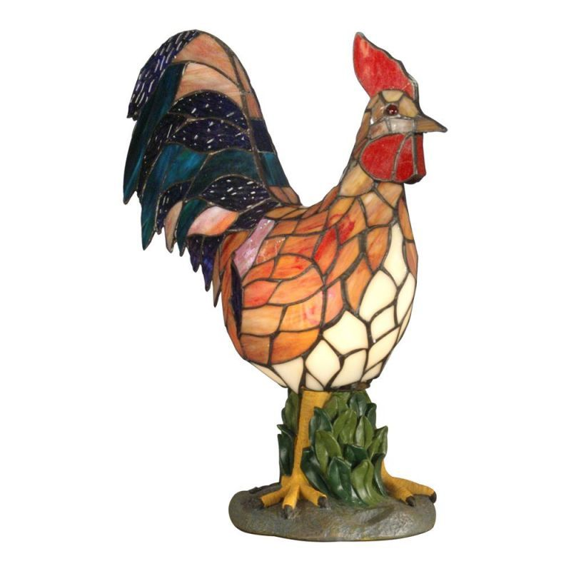 French+Country+Rooster+Lamp | Rooster Lamp Shades on Dale ...