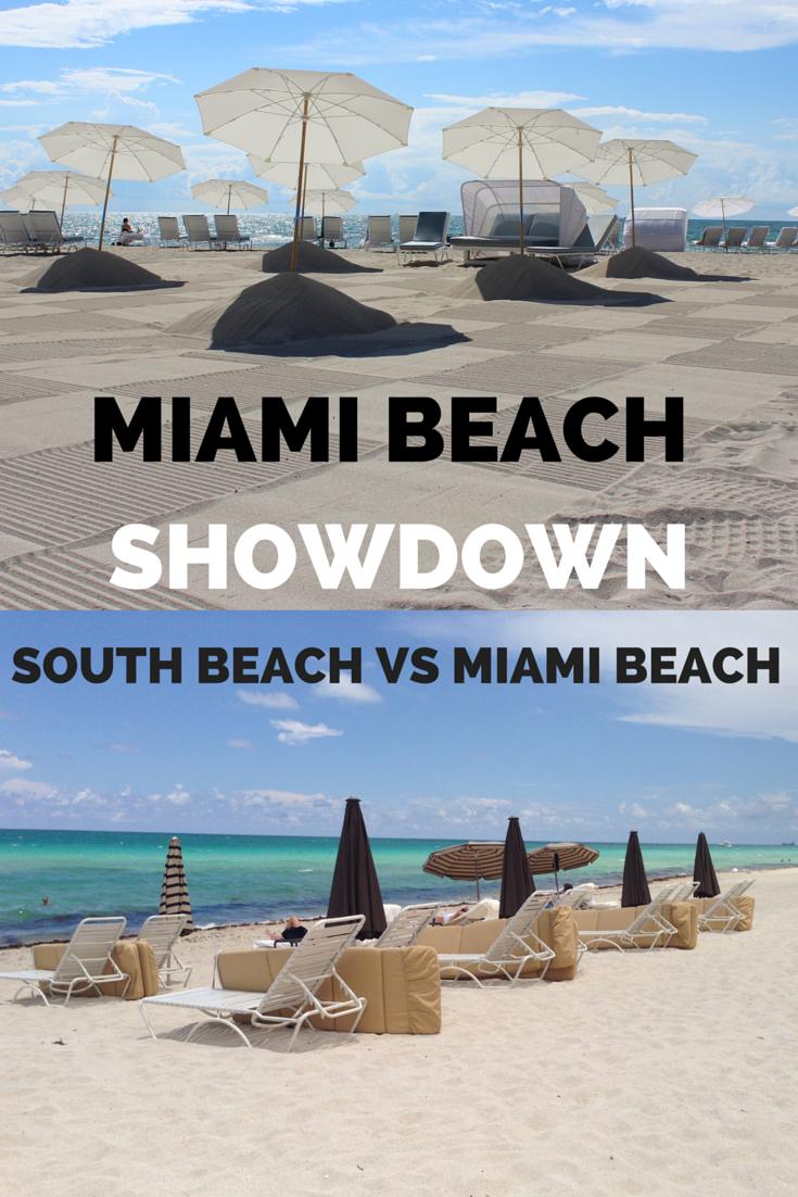 Miami Showdown Staying In South Beach Vs Miami Beach American Travel Florida Travel Miami Beach