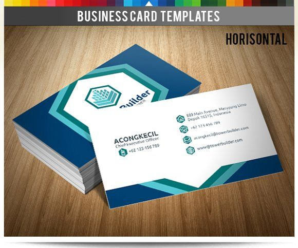 Premium Bc Tower Builder Business Card Template Design Photography Business Cards Template Premium Business Cards