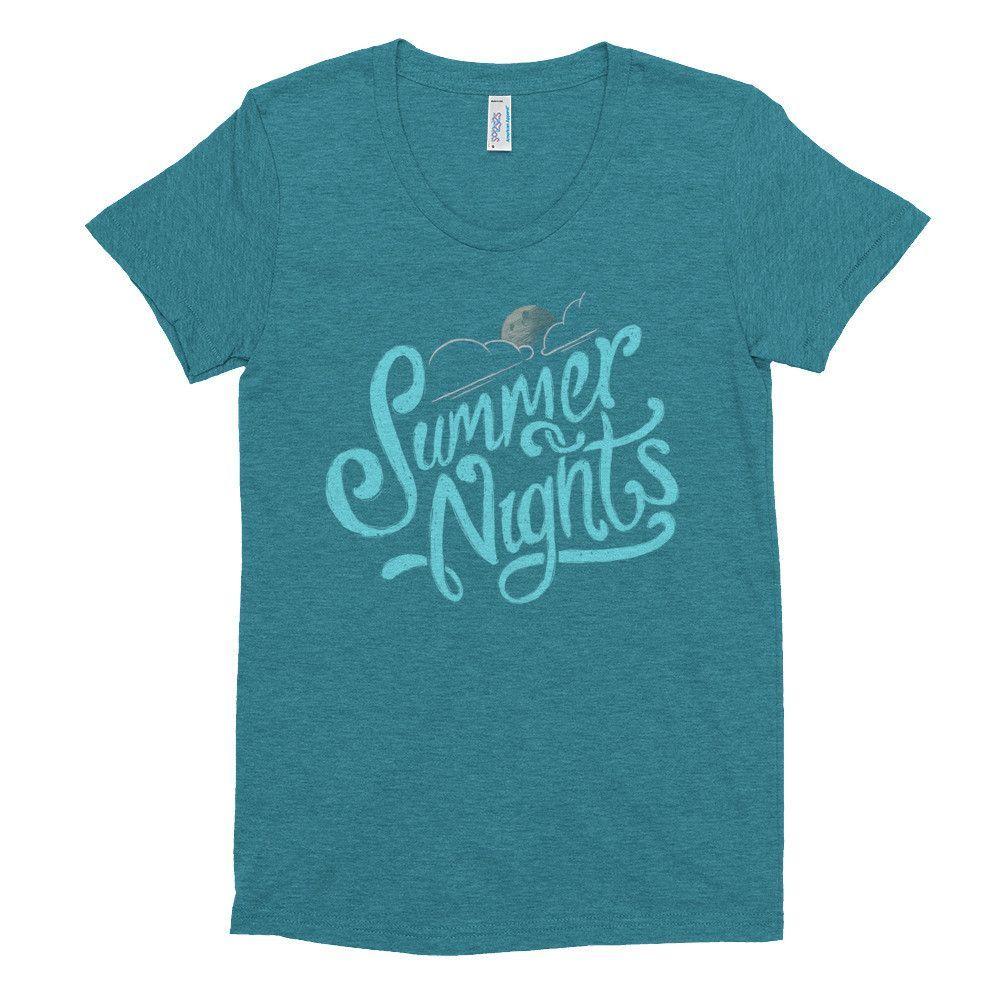 Summer Nights Women's short sleeve soft t-shirt