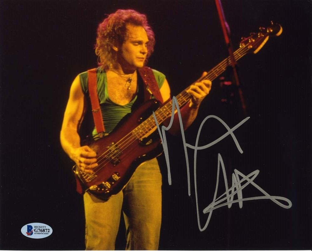 Michael Anthony Van Halen Signed 8x10 Photo Certified Authentic Bas Coa Aftal Van Halen Michael Anthony Van Halen Michael Anthony