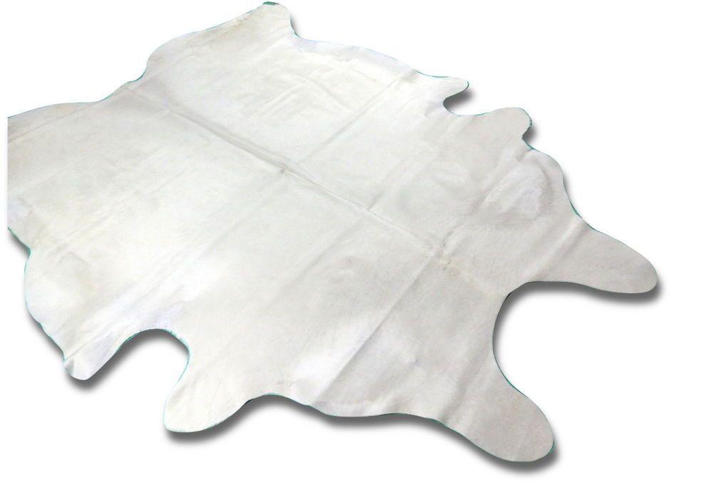 brazilian white cowhide rug white cowskin e 403 9u0027 x 7u0027 huge