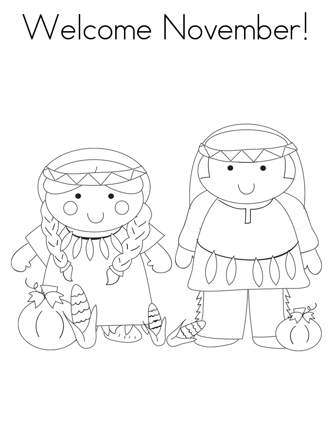 november coloring pages printable coloring pages of welcome november for preschoolers 2013