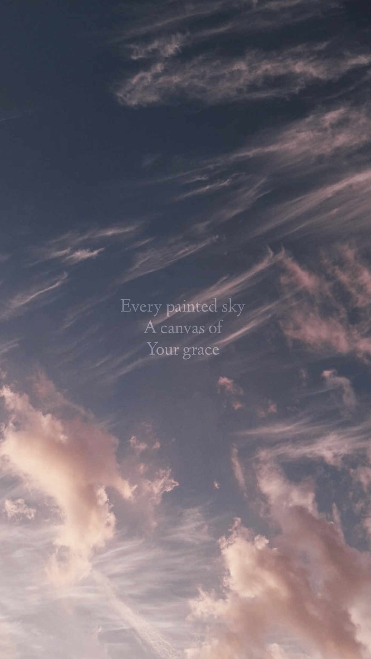 Every Painted Sky A Canvas Of Your Grace Jess And Gabriel Christian Iphone Wallpaper Iphone Wallpaper Quotes Bible Jesus Wallpaper Christian Iphone Wallpaper