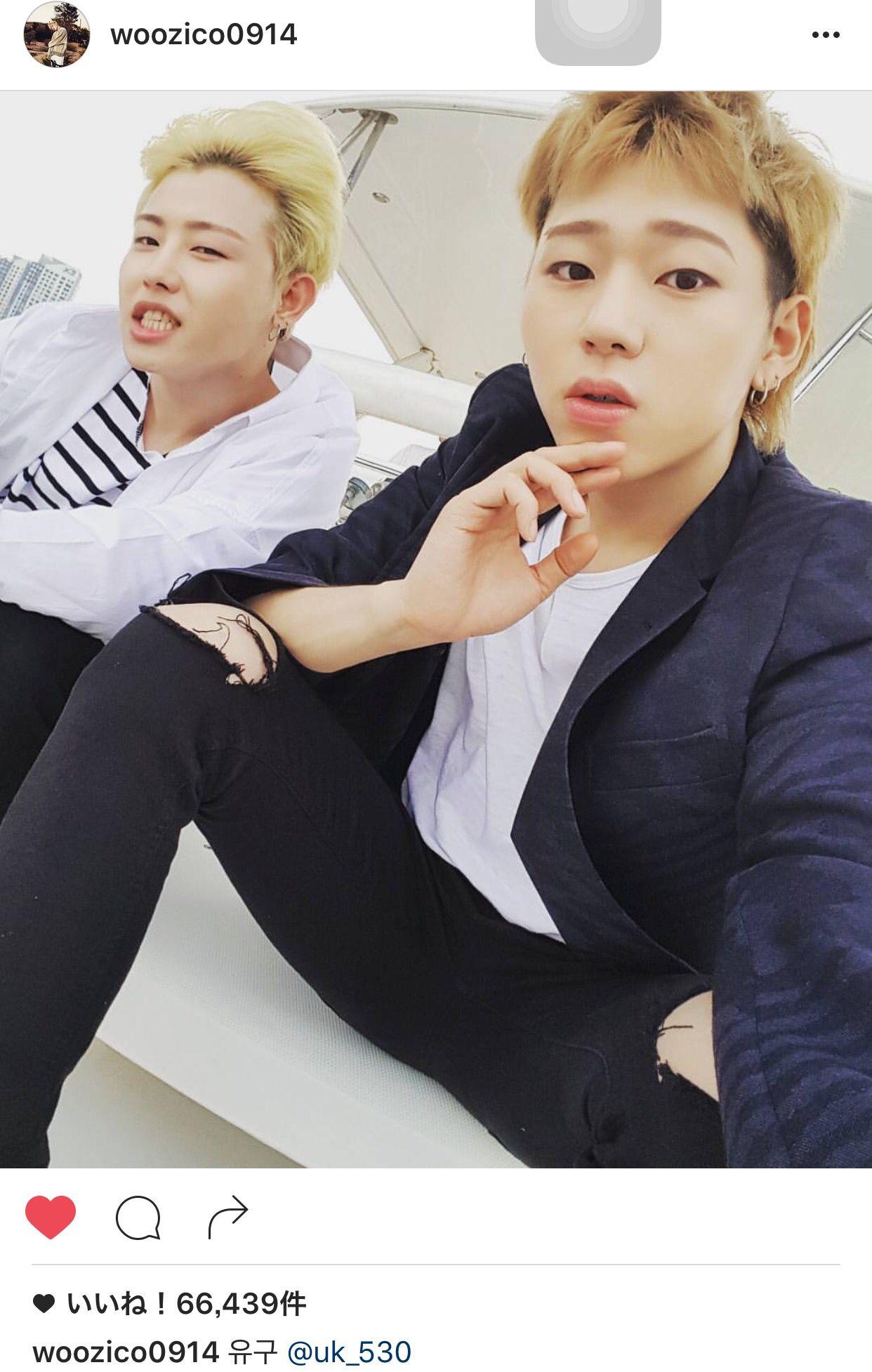 #ZICO Instagram with #u_kwon