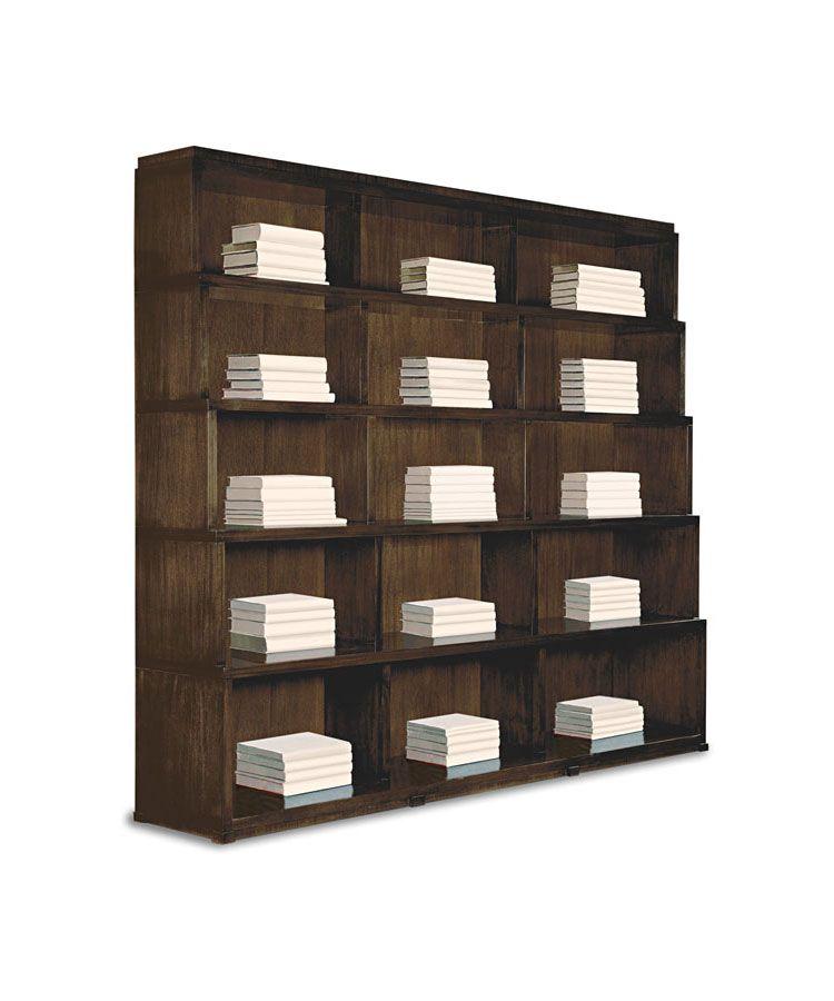 La Brea Bookcase Kerry Joyce For Dessin Fournir 96 1/2 W X 18 1/2 D X 84  1/2 H