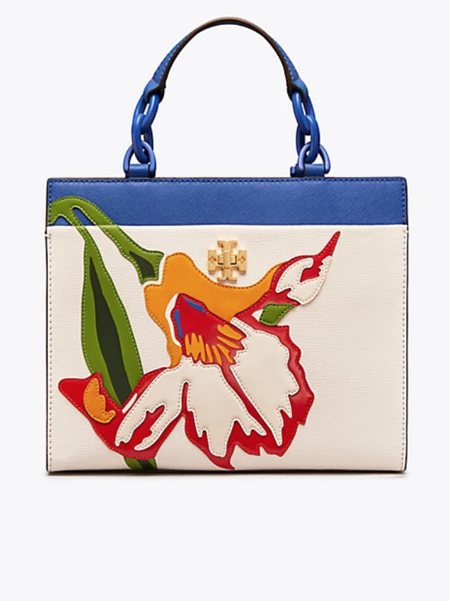 127d42d0d Tory Burch Kira Small Floral Tote