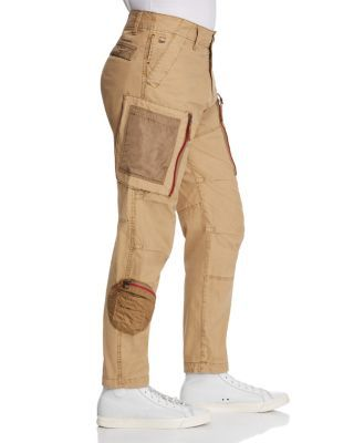 G Star RAW Natural G Star Raw Arris Straight Fit Cargo Jeans In Lion for men