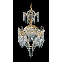 schonbek rooms/images   Schonbek Worldwide Lighting Crystal Chandelier in Golden Birch Finish ...