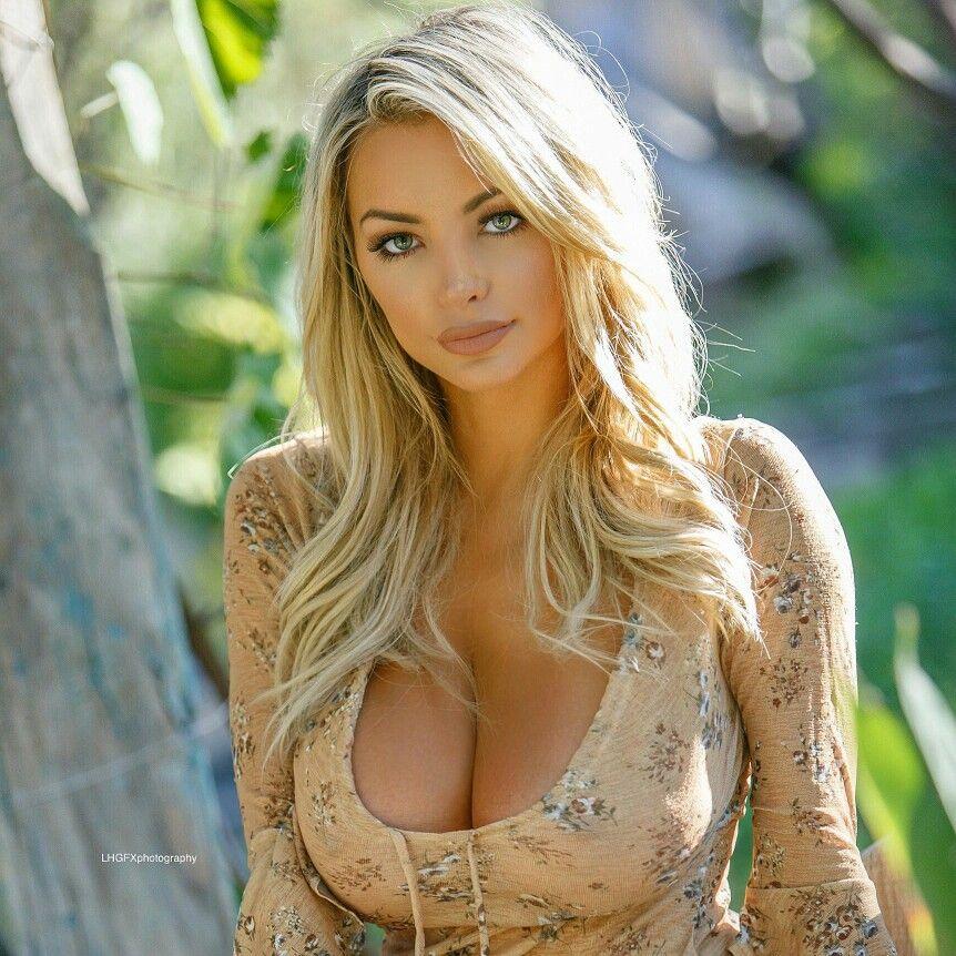 Hot Blonde Natural Tits