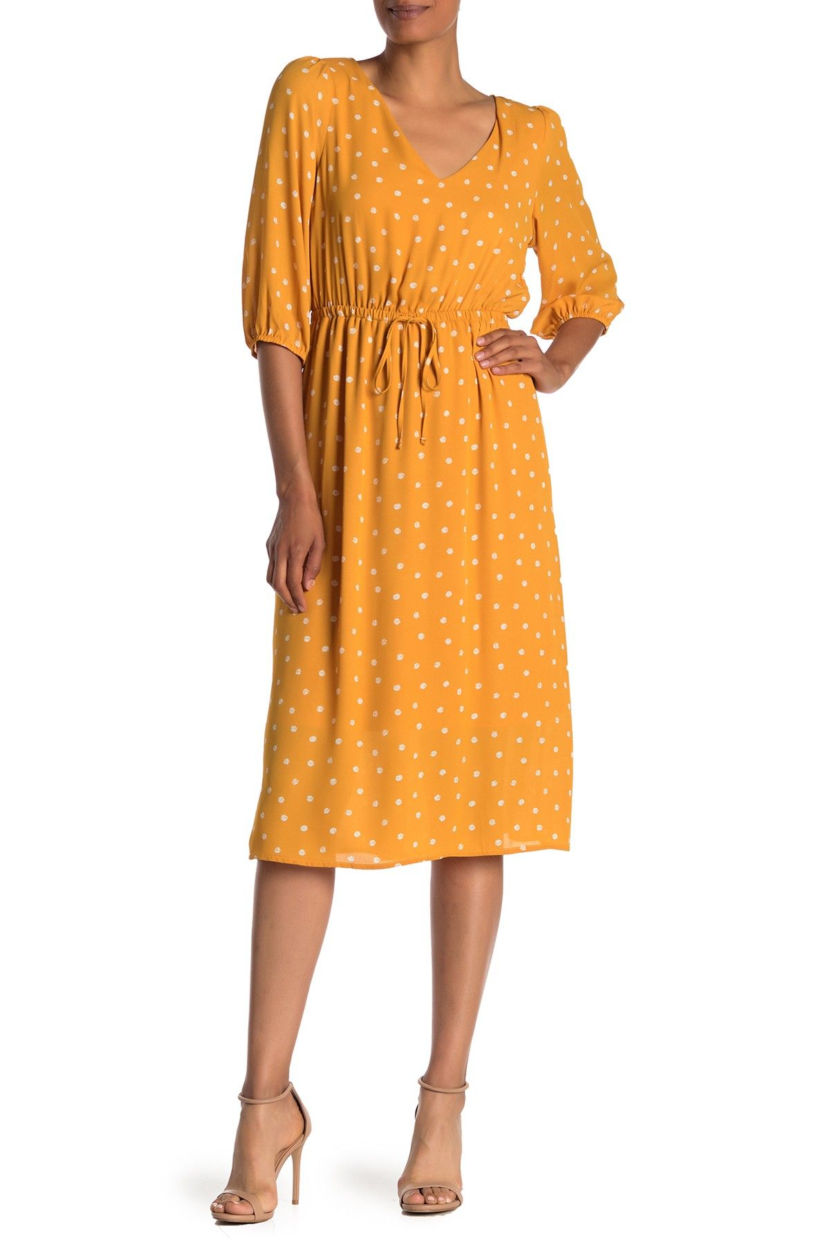 Superfoxx 3 4 Length Sleeve Patterned Midi Dress Nordstrom Rack Patterned Midi Dress Sleeves Pattern Nordstrom Dresses [ 1800 x 1200 Pixel ]