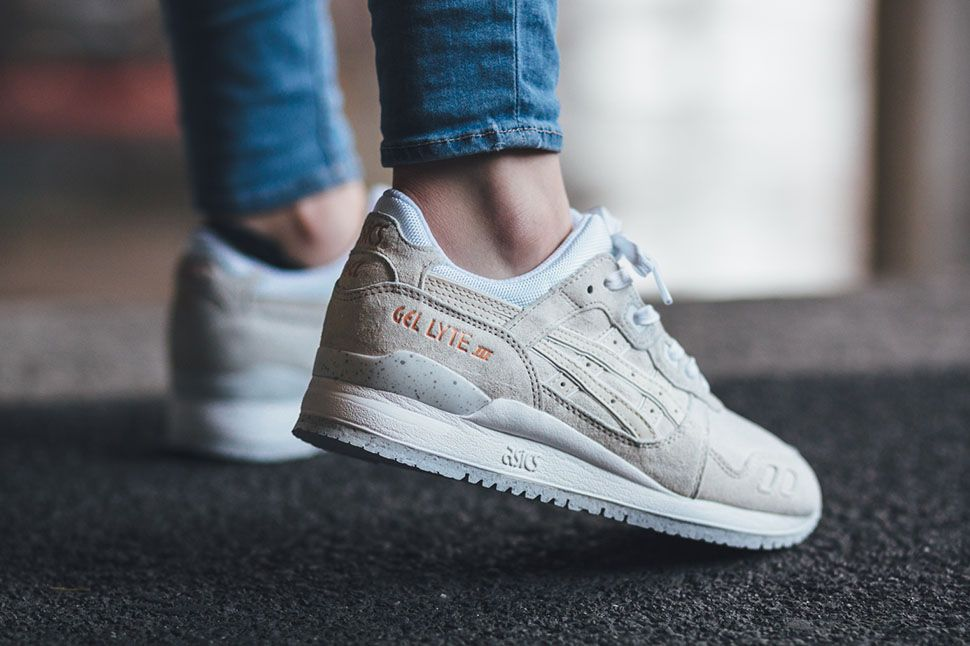 "Asics Gel-Lyte III ""White/Rose Gold"" - EU Kicks: Sneaker"