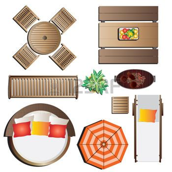 Outdoor Furniture Plan View Google Search Design