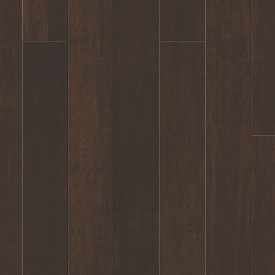 5 In Dark Java Bamboo Engineered Hardwood Flooring 14 85 Sq Ft Natural Flooring Bamboo Hardwood Flooring Hardwood Floors