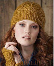 Вязание - шапки, береты | Шапка, Вязаные шапки, Митенки
