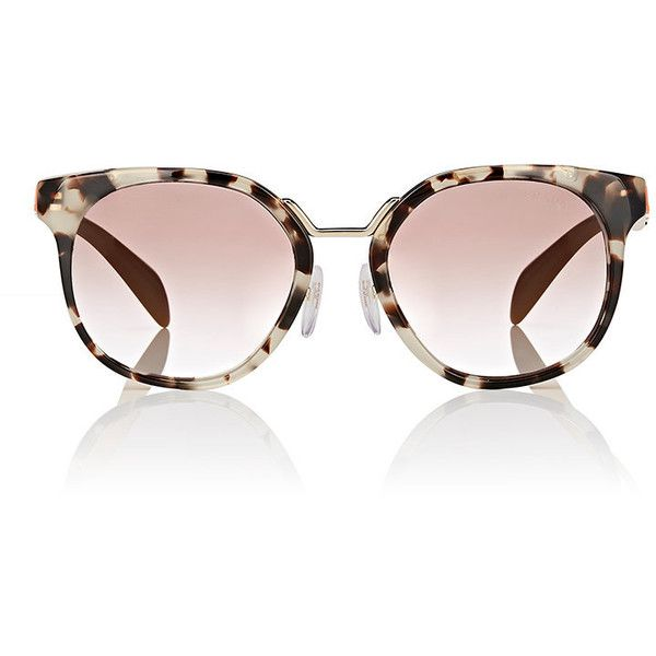 Womens Rounded Square Sunglasses Prada Eqhns3B
