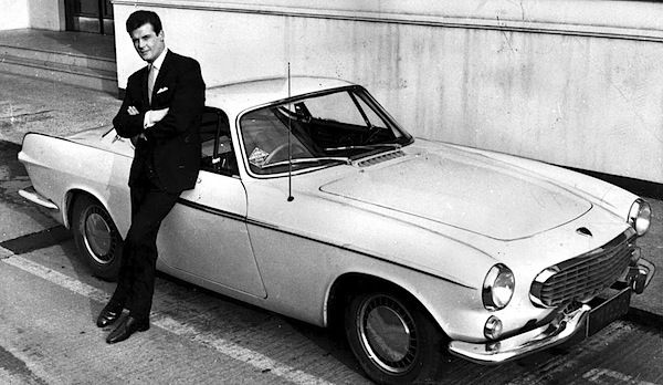 Volvo P1800 With Roger Moore The Saint