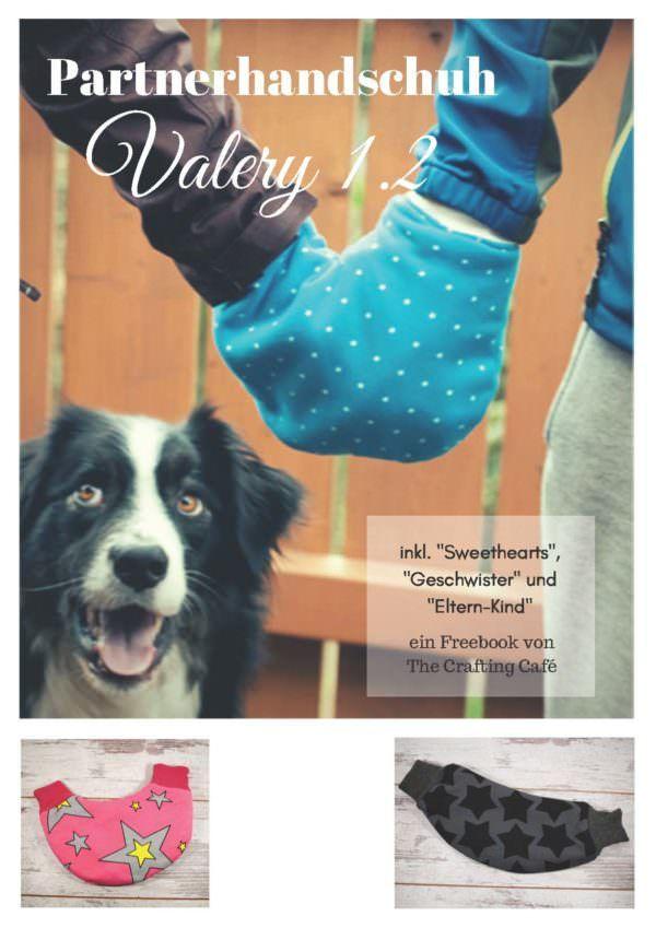 Freebook: Valery, der Partnerhandschuh 1.2 | Halstuch, Diy nähen und ...