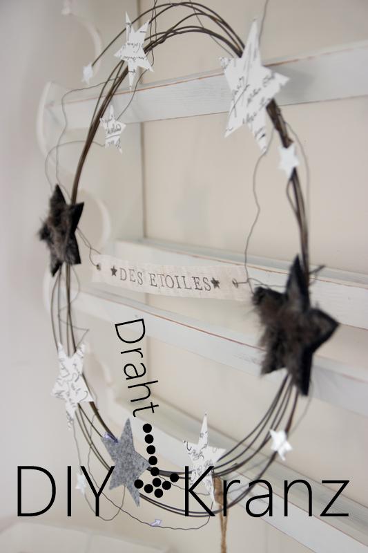 DIY Draht-Kranz (CreativLIVE) | Handgelenk, Mittwoch und Glück