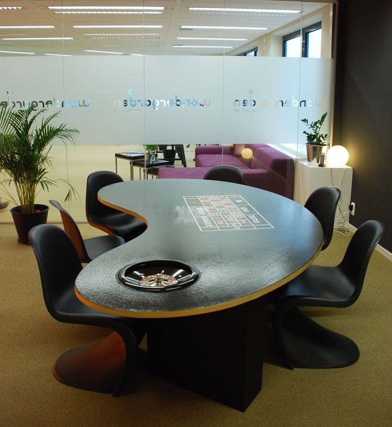Meeting Room With Roulette Meeting Table @ Wondergarden HQ Zaventem
