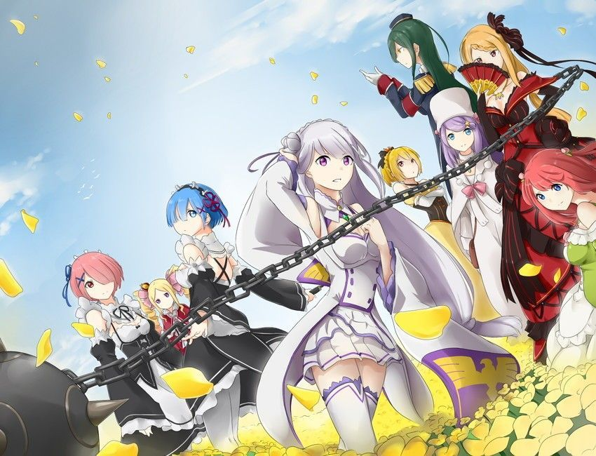 Pin by Phoenixwing on ReZero Anime, Another world, Re