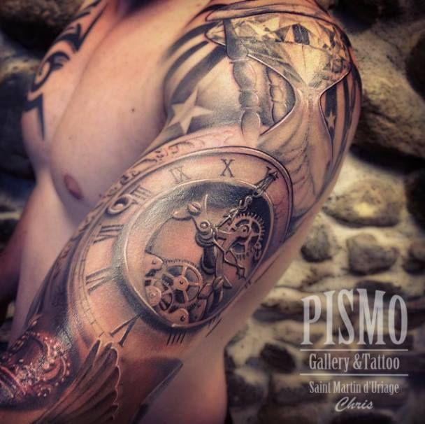 By Pismo Tattoo Ideas Watch Tattoos Tattoos Sleeve Tattoos