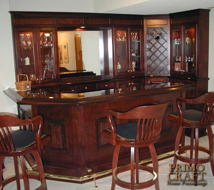 Bar, Custom Wood And Woods