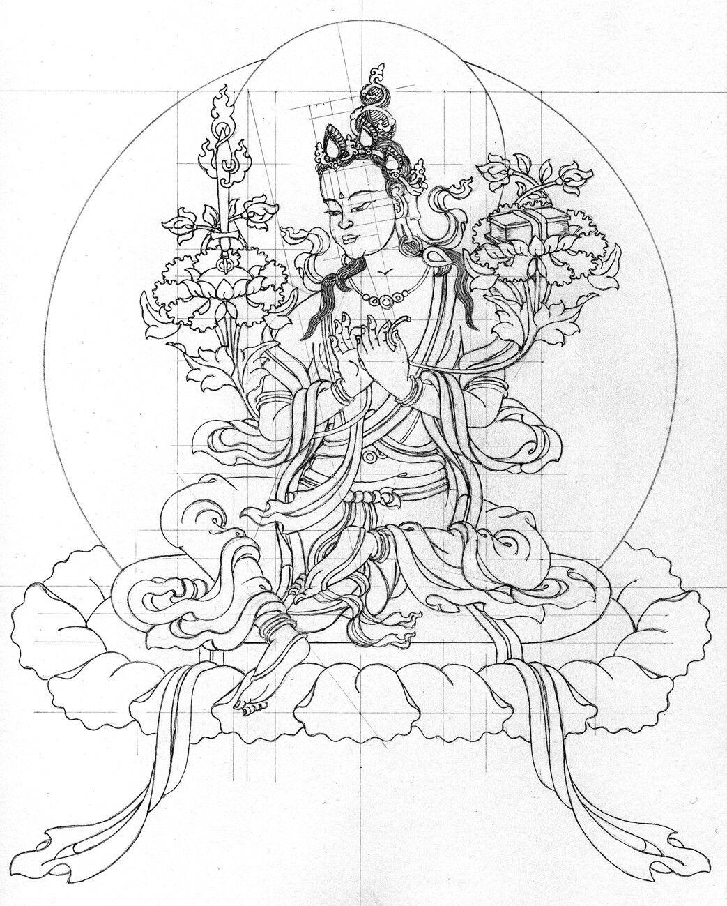 Pin de Marguerite en Buddha\'s | Pinterest | Dibujo y Arte
