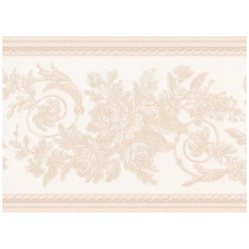 Retro Art Beige Abstract Damask Scprepasted Rolls Leaves On Alabaster White Prepasted Wallpaper Border 31616370 Retro Art Prepasted Wallpaper Retro Wallpaper