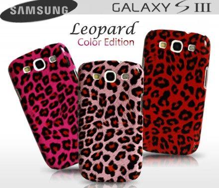 Coque Samsung galaxy-S3 Leopard Color Edition  Coque au motif léopard sortie d'une collection colorée tendance.   Rigide et dotée d'une surface lisse, elle protègera efficacement votre smartphone Samsung des chocs et rayures tout en laissant ses prises et boutons accessibles.