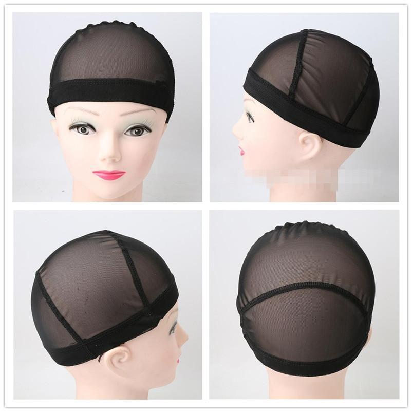 Wholesale Fashion Stretchable Weaving Cap Elastic Nylon Mesh Net