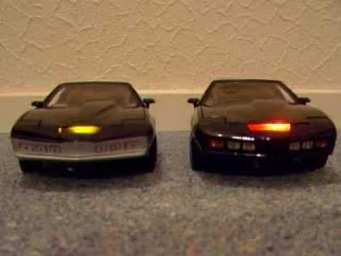 Kitt And Karr 1 18th Model Knight Rider Cars Model Cars Toys