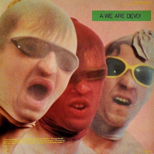 Devo A Are We Not Men Cool Album Covers Album Cover Art