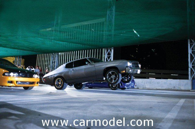 Chevrolet - dom's chevelle 454ss 1970 - fast & furious iv (2009