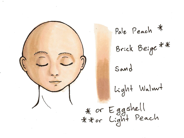 Prismacolor Skin Tone Markers Google Search Prismacolor