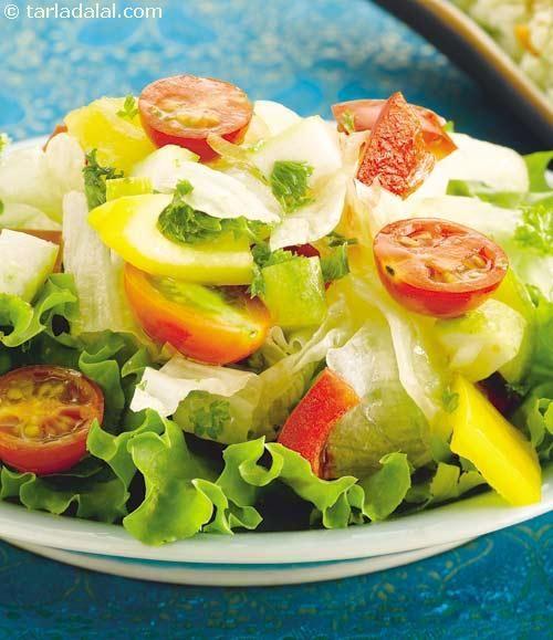 Arabic salad recipe arabic salad salad and lebanese food recipes arabic salad forumfinder Image collections