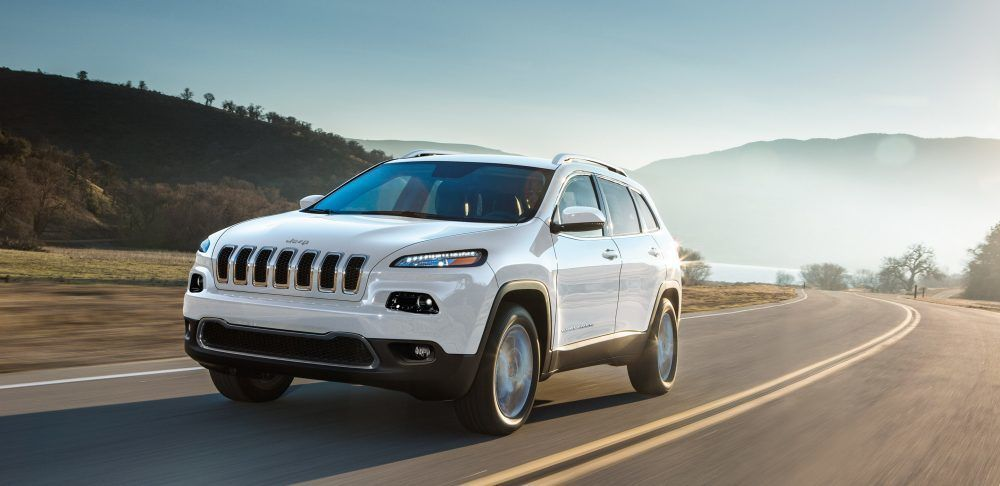 2018 Jeep Cherokee Exterior Overland White Highway Jeep