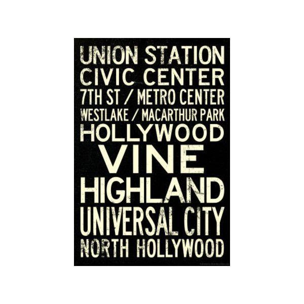 Los Angeles Metro Rail Stations Vintage Subway RetroMetro Travel ...
