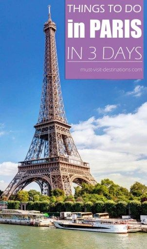 things to do in paris in 3 days paris pinterest. Black Bedroom Furniture Sets. Home Design Ideas