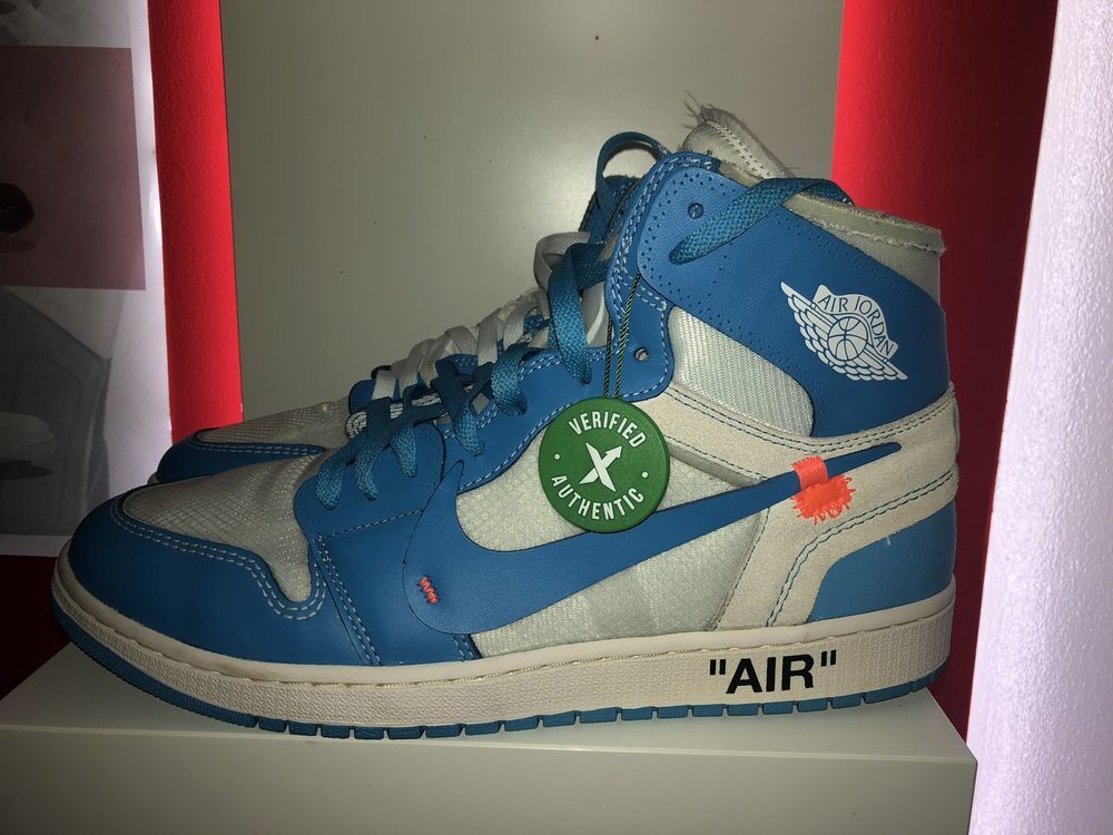 a694a513ed143f eBay  Sponsored Jordan 1 Off White Unc Mens Size 12