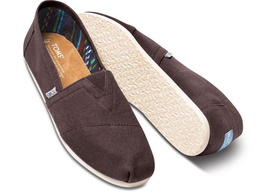 70433d7e1dbb Toms Classic Canvas Slip On Shoe