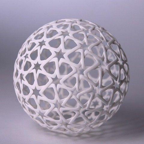 Islamic Christmas Ball Geometri Suslemeler Sanat