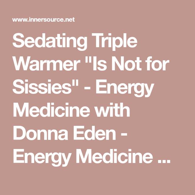Sedating triple