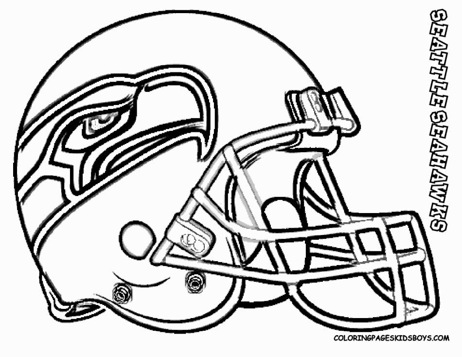 Seattle Seahawks Coloring Page | Coloring Pages | Football ...
