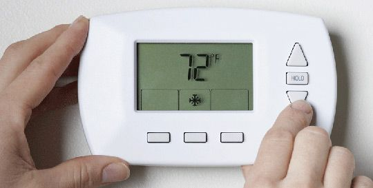 How To Disguise Your Ugly Digital Thermostat #howtodisguiseyourself