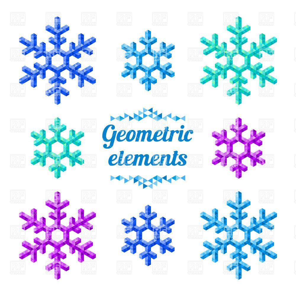 Free Vector Snowflake Clip Art Frozen snowflake