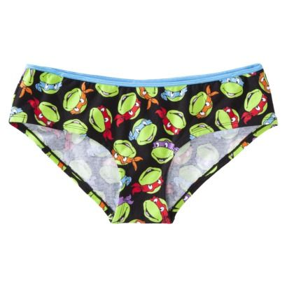 536480971673 Women's Teenage Mutant Ninja Turtles Panty - Black | My style ...