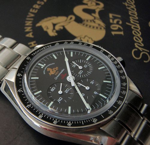 omega speedmaster 50th anniversary special edition