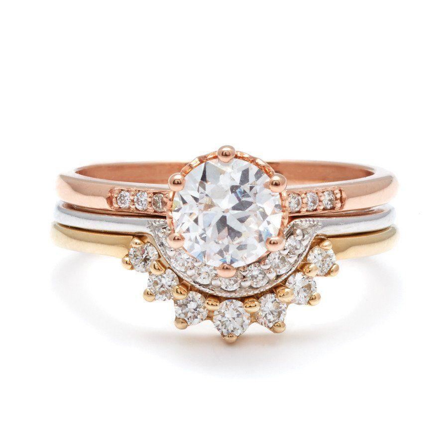 Classic Engagement Rings, Unique Engagement Rings, Unique Engagement Rings  Nyc, White Gold,